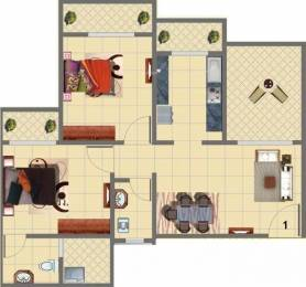 936 sqft, 2 bhk Apartment in Mohan Suburbia Ambernath West, Mumbai at Rs. 45.0000 Lacs