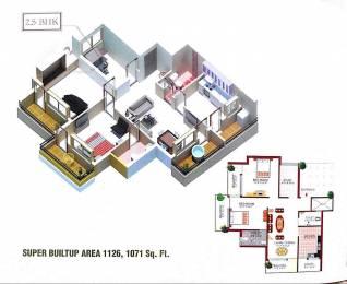1071 sqft, 2 bhk Apartment in Builder Project Amlihdih, Raipur at Rs. 29.0000 Lacs
