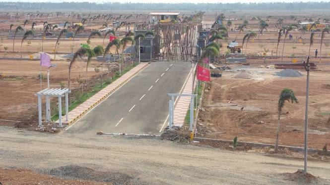 1800 sqft, Plot in Peram Aditya White Field Tagarapuvalasa, Visakhapatnam at Rs. 34.0000 Lacs
