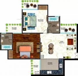 900 sqft, 2 bhk Apartment in The Antriksh Urban Greek Sector 11 Dwarka, Delhi at Rs. 46.8000 Lacs