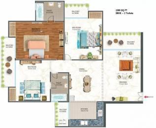 1300 sqft, 3 bhk Apartment in The Antriksh Urban Greek Sector 11 Dwarka, Delhi at Rs. 67.6000 Lacs