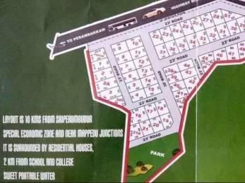 2750 sqft, Plot in Jemi Annai Nagar Sriperumbudur, Chennai at Rs. 18.7000 Lacs
