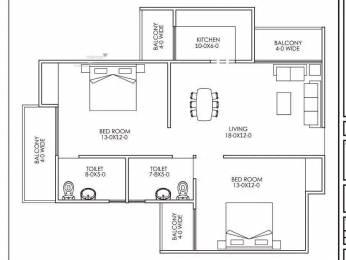 1100 sqft, 2 bhk Apartment in Builder CHS Apartment New delhi Sector 24 Dwarka, Delhi at Rs. 35.8750 Lacs