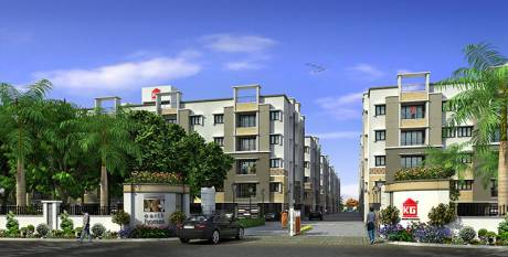 930 sqft, 2 bhk Apartment in KG Earth Homes Phase II Siruseri, Chennai at Rs. 24.1700 Lacs