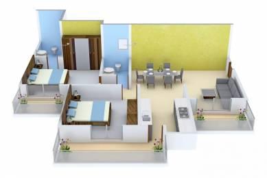 1380 sqft, 2 bhk Apartment in Gulshan Ikebana Sector 143, Noida at Rs. 67.0000 Lacs