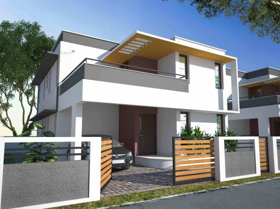 1600 sqft, 3 bhk Villa in Builder Chothys East Avenue villas Kazhakkoottam, Trivandrum at Rs. 58.0000 Lacs