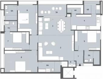 3311 sqft, 4 bhk Apartment in Shivalik Avenue Bodakdev, Ahmedabad at Rs. 2.2800 Cr