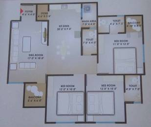 1680 sqft, 3 bhk Apartment in Builder Project Vasana Bhayli Road, Vadodara at Rs. 30.0000 Lacs