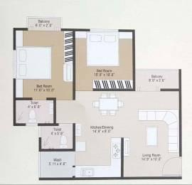 1015 sqft, 2 bhk Apartment in Builder Project Harni, Vadodara at Rs. 27.0000 Lacs