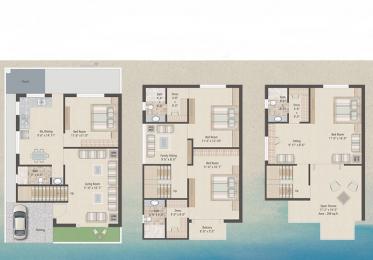 2522 sqft, 4 bhk Villa in Builder Project sama savli road, Vadodara at Rs. 1.0000 Cr