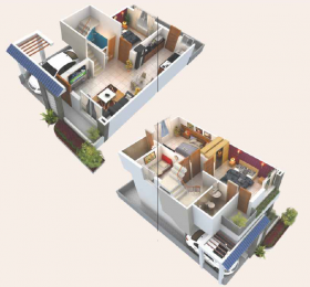 1326 sqft, 4 bhk Villa in Builder Project Waghodia road, Vadodara at Rs. 45.0000 Lacs