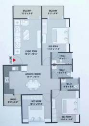 1500 sqft, 3 bhk Apartment in Builder Project Vasana Bhayli Road, Vadodara at Rs. 25.0000 Lacs