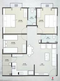 1400 sqft, 3 bhk Apartment in Builder Project Harni, Vadodara at Rs. 30.5100 Lacs