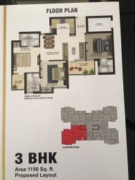 1150 sqft, 3 bhk Apartment in Builder The ADDRESS New Chandigarh Mullanpur, Chandigarh at Rs. 34.9000 Lacs