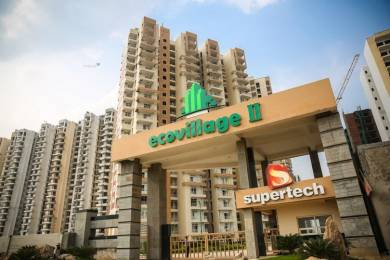 1106 sqft, 2 bhk Apartment in Supertech Eco Village 2 Sector 16B Noida Extension, Greater Noida at Rs. 36.2500 Lacs