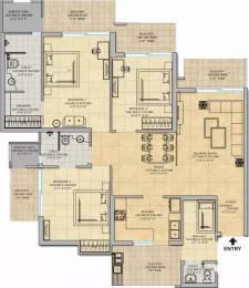 1930 sqft, 3 bhk Apartment in Gaursons Saundaryam Techzone 4, Greater Noida at Rs. 82.5000 Lacs