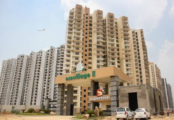 890 sqft, 2 bhk Apartment in Supertech Eco Village II Noida Phase II, Noida at Rs. 26.3500 Lacs