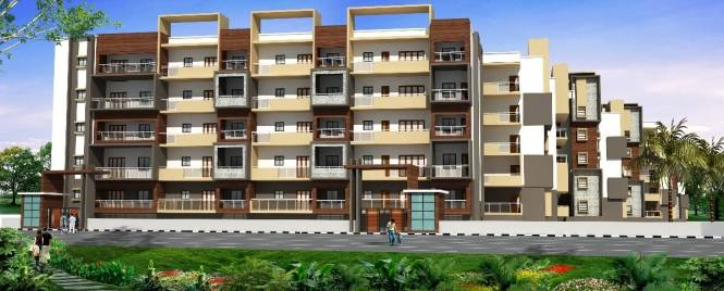 1196 sqft, 3 bhk Apartment in Griha Grand Gandharva Rajarajeshwari Nagar, Bangalore at Rs. 51.5117 Lacs