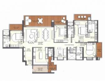 2762 sqft, 4 bhk Apartment in Kalpataru Vista Sector 128, Noida at Rs. 3.6300 Cr