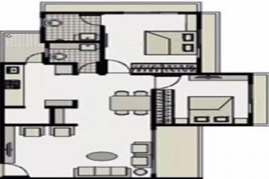 1305 sqft, 2 bhk Apartment in Dharmadev Neelkanth Elegance Jodhpur Village, Ahmedabad at Rs. 53.0000 Lacs