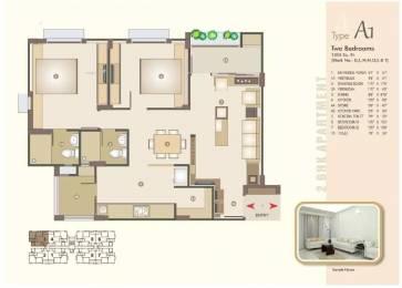 1355 sqft, 2 bhk Apartment in Venus Parkland Juhapura, Ahmedabad at Rs. 51.0000 Lacs