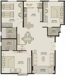 1775 sqft, 3 bhk Apartment in Shagun Classic Bodakdev, Ahmedabad at Rs. 89.0000 Lacs