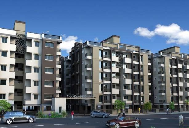 1170 sqft, 2 bhk Apartment in Dharmadev Neelkanth Orchid Bopal, Ahmedabad at Rs. 50.0000 Lacs