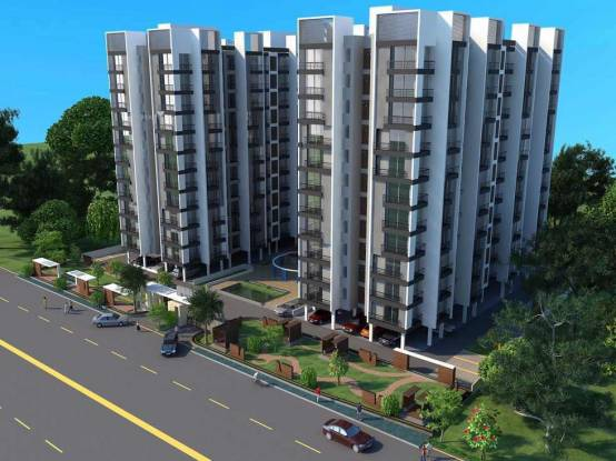 1350 sqft, 2 bhk Apartment in Dharmadev Neelkanth Elegance Jodhpur Village, Ahmedabad at Rs. 55.0000 Lacs
