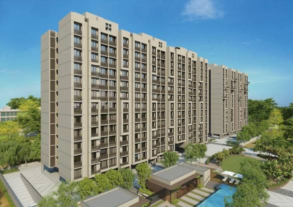 1545 sqft, 3 bhk Apartment in Goyal Orchid Paradise Bopal, Ahmedabad at Rs. 18000