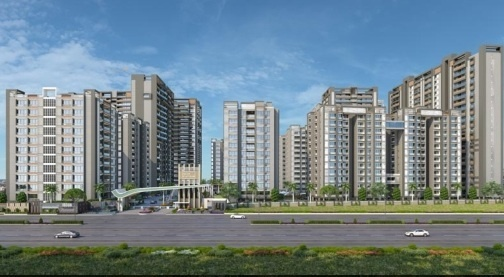 1985 sqft, 3 bhk Apartment in JP Iscon Iscon Platinum Bopal, Ahmedabad at Rs. 28000