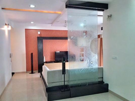 1776 sqft, 3 bhk Apartment in Pacifica Green Acres Prahlad Nagar, Ahmedabad at Rs. 27000