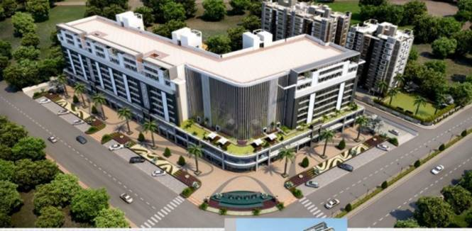 2000 sqft, 3 bhk Apartment in Dev Group Dev Aurum Prahlad Nagar, Ahmedabad at Rs. 25000