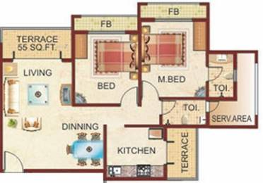 1135 sqft, 2 bhk Apartment in Zenith Bhoomi Harmony Kamothe, Mumbai at Rs. 1.5000 Cr