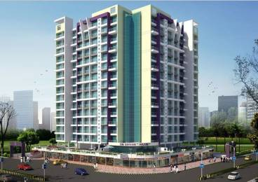 1000 sqft, 2 bhk Apartment in Om Shivam Arjun Kamothe, Mumbai at Rs. 71.0000 Lacs