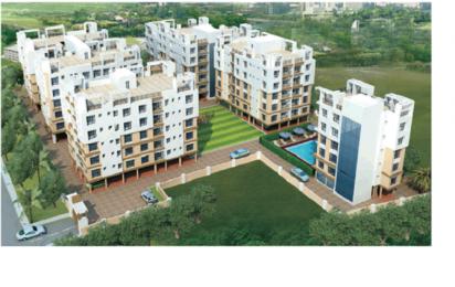 1300 sqft, 3 bhk Apartment in Swagat Swagat Skyline Rajarhat, Kolkata at Rs. 40.3000 Lacs