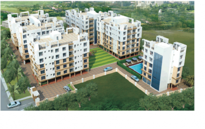 1062 sqft, 2 bhk Apartment in Swagat Swagat Skyline Rajarhat, Kolkata at Rs. 32.9220 Lacs
