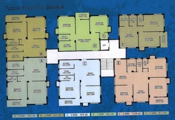 897 sqft, 2 bhk Apartment in Northland Anandoloke Kunjaban Dum Dum, Kolkata at Rs. 28.7040 Lacs