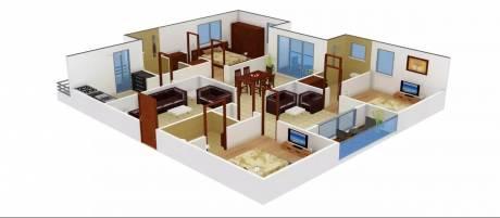2250 sqft, 3 bhk Apartment in ACE Atlantis Manikonda, Hyderabad at Rs. 45000