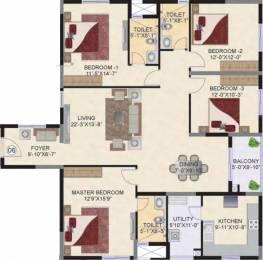 2082 sqft, 4 bhk Apartment in Mahindra Ashvita Kukatpally, Hyderabad at Rs. 1.1500 Cr