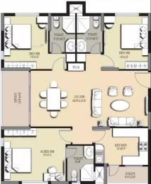 1497 sqft, 3 bhk Apartment in Prajay Megapolis Kukatpally, Hyderabad at Rs. 70.0000 Lacs