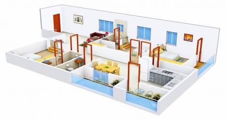 2059 sqft, 3 bhk Apartment in Vaishnavi Fresh Living Apartments Madhapur, Hyderabad at Rs. 1.2500 Cr