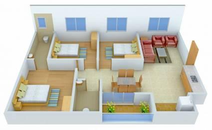 1198 sqft, 3 bhk Apartment in Mantri Celestia Nanakramguda, Hyderabad at Rs. 35000