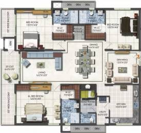 2625 sqft, 3 bhk Apartment in DSR Fortune Prime Madhapur, Hyderabad at Rs. 1.7100 Cr