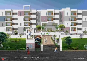 1222 sqft, 2 bhk Apartment in Vishwasri Oak Park Saravanampatti, Coimbatore at Rs. 40.2649 Lacs