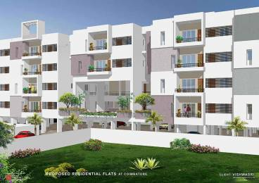 1230 sqft, 2 bhk Apartment in Vishwasri Oak Park Saravanampatti, Coimbatore at Rs. 40.5285 Lacs