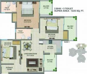 1225 sqft, 3 bhk Apartment in Migsun Wynn ETA 2, Greater Noida at Rs. 25.0000 Lacs