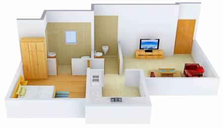 700 sqft, 1 bhk Apartment in Rattan Ratan Silicon Park Malad West, Mumbai at Rs. 79.0000 Lacs