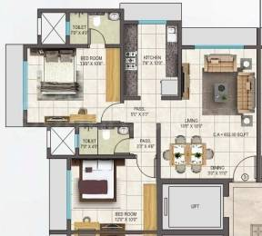 700 sqft, 1 bhk Apartment in Builder Regent Galaxy Malad West, Mumbai at Rs. 95.0000 Lacs