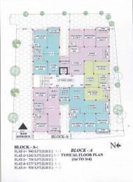 1100 sqft, 3 bhk Apartment in Builder KUMAR AANGAN Hindustan Park, Kolkata at Rs. 28.6000 Lacs