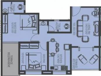 900 sqft, 2 bhk Apartment in Arun Celesta Chikhali, Pune at Rs. 14000